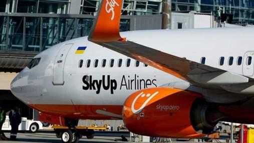 SkyUp оголосили про знижки на квитки на честь Дня народження