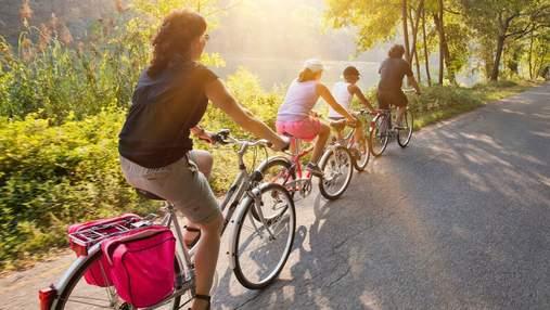 Де у Києві покататися на велосипеді: цікаві локації на вікенд