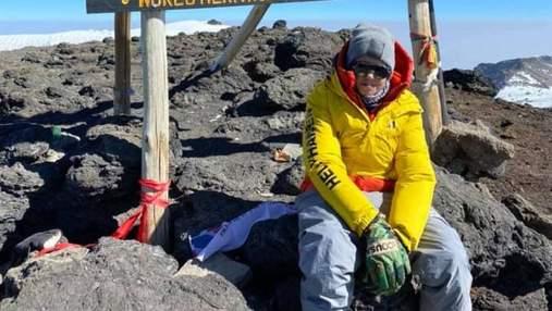 """Підліток зі Львівщини став наймолодшим українцем, який """"взяв"""" найвищу гору Африки – Кіліманджаро"""