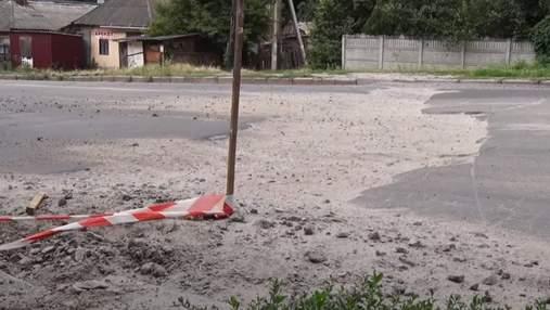 Из-за глубокой ямы на дороге: в Кропивницком мужчина остался без глаза и двух зубов