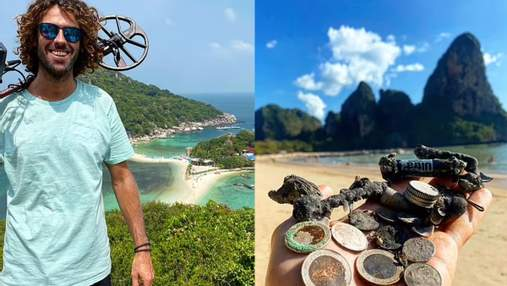 Мисливець за скарбами Бонді подорожує по світу у пошуках підводних артефактів: фото знахідок