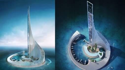 """На Занзібарі збудують неймовірний острів """"Вежа Доміно"""": захопливі фото"""