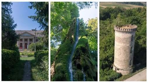 """Подорож до Подільських Товтр: палац Орловських, Малієвецький водоспад й """"середньовічна"""" вежа"""