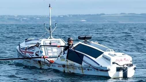 Попри страх відкритого моря: британець переплив Атлантичний океан наодинці за 119 днів