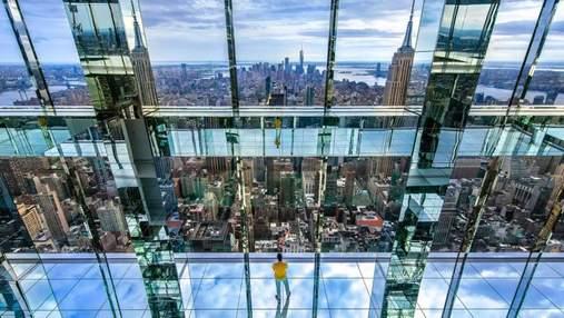З прозорою підлогою та на висоті понад 300 метрів: у Нью-Йорку відкриють оглядовий майданчик
